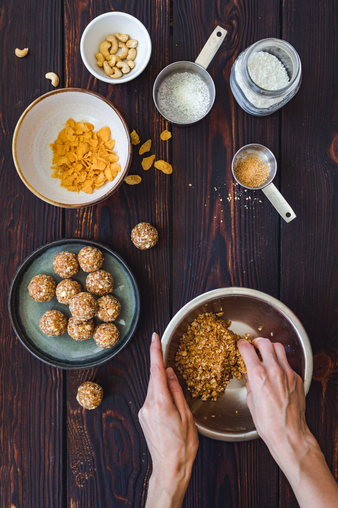 Dates Coconut Bliss Balls