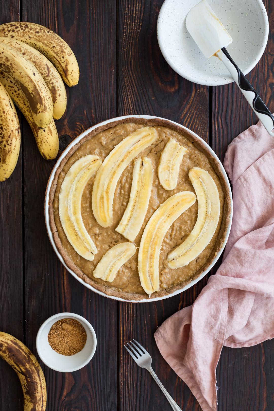 Banana Frangipane Tart