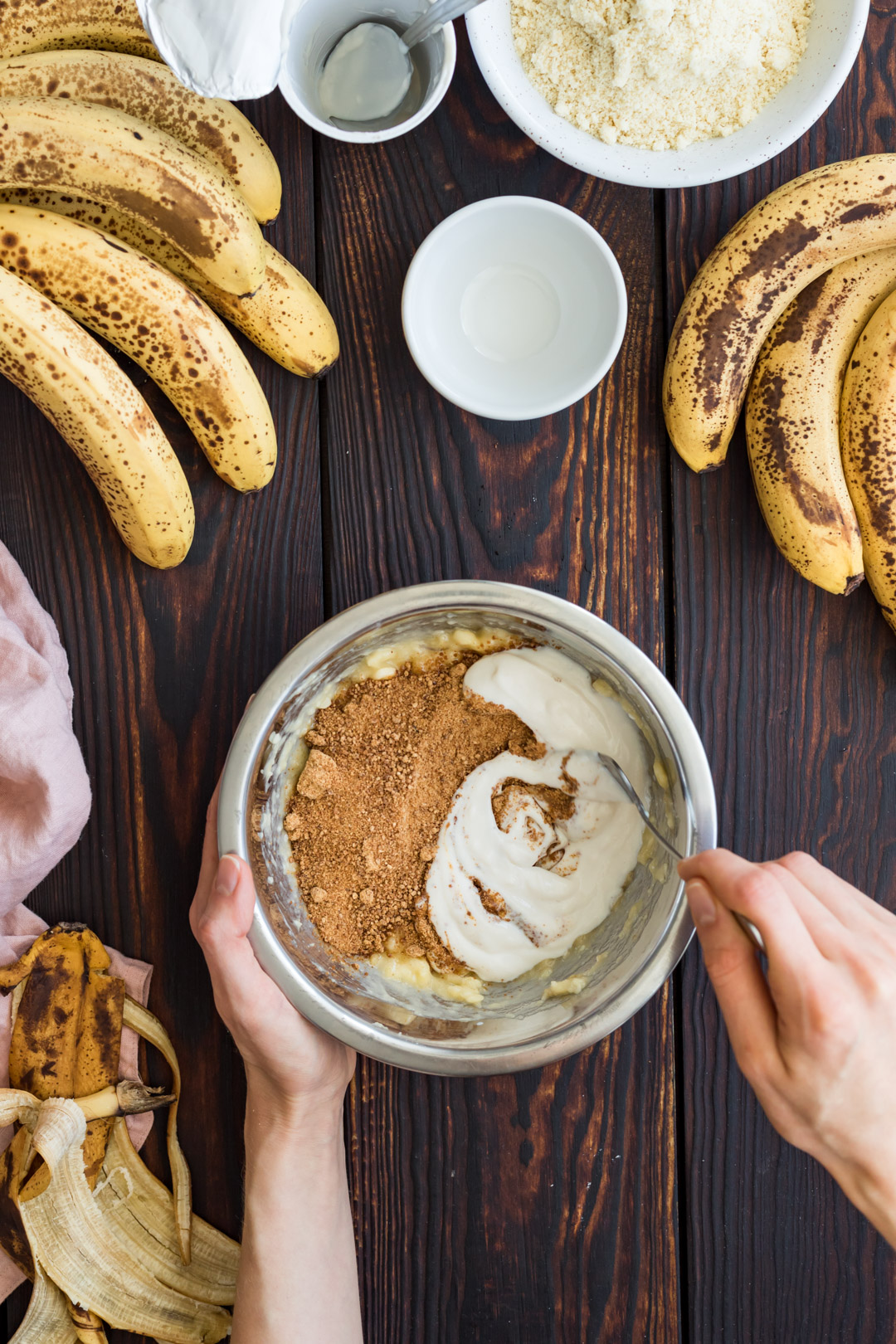 Vegan Gluten-free Banana Almond Tart