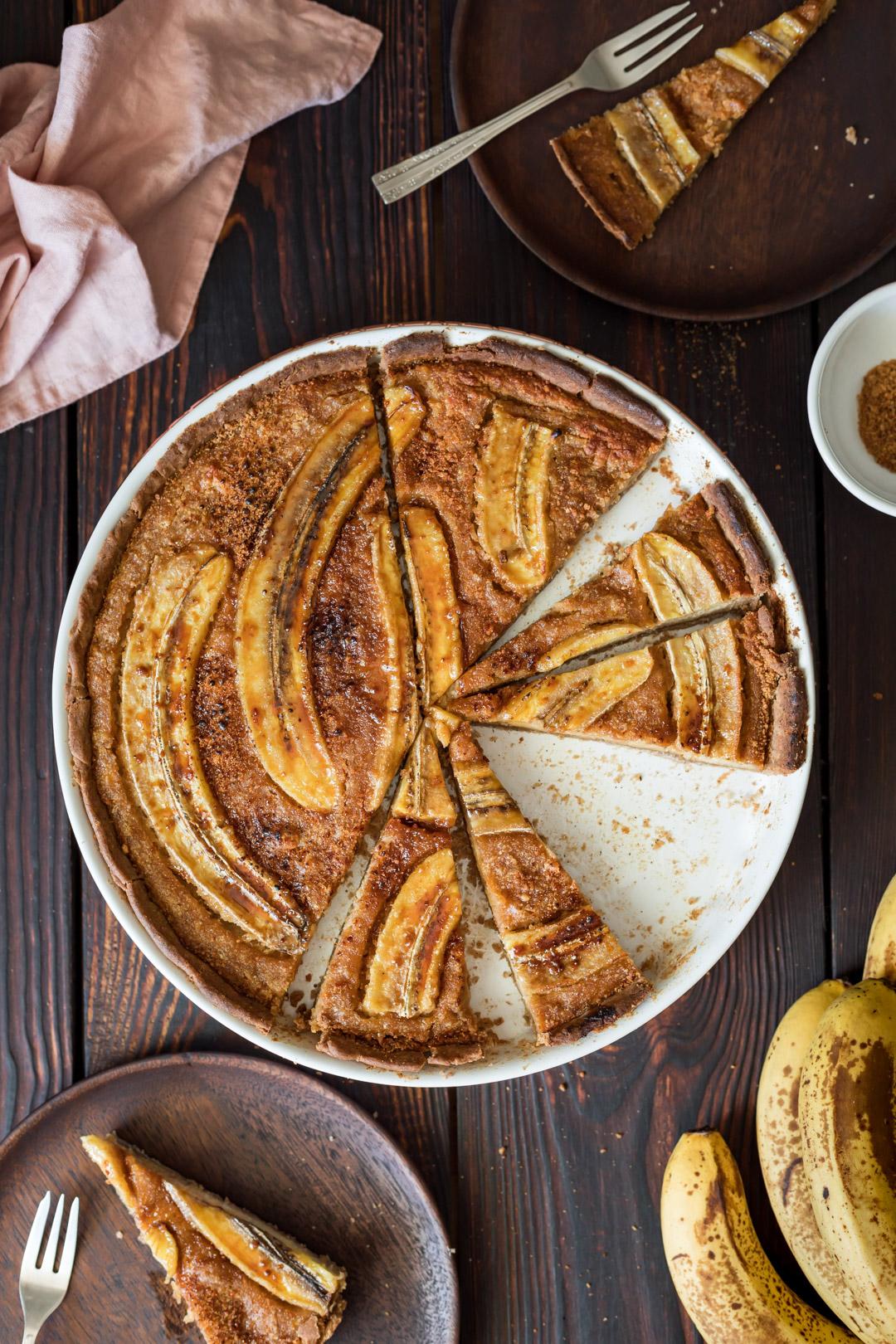 Vegan Gluten-free Frangipane Tart