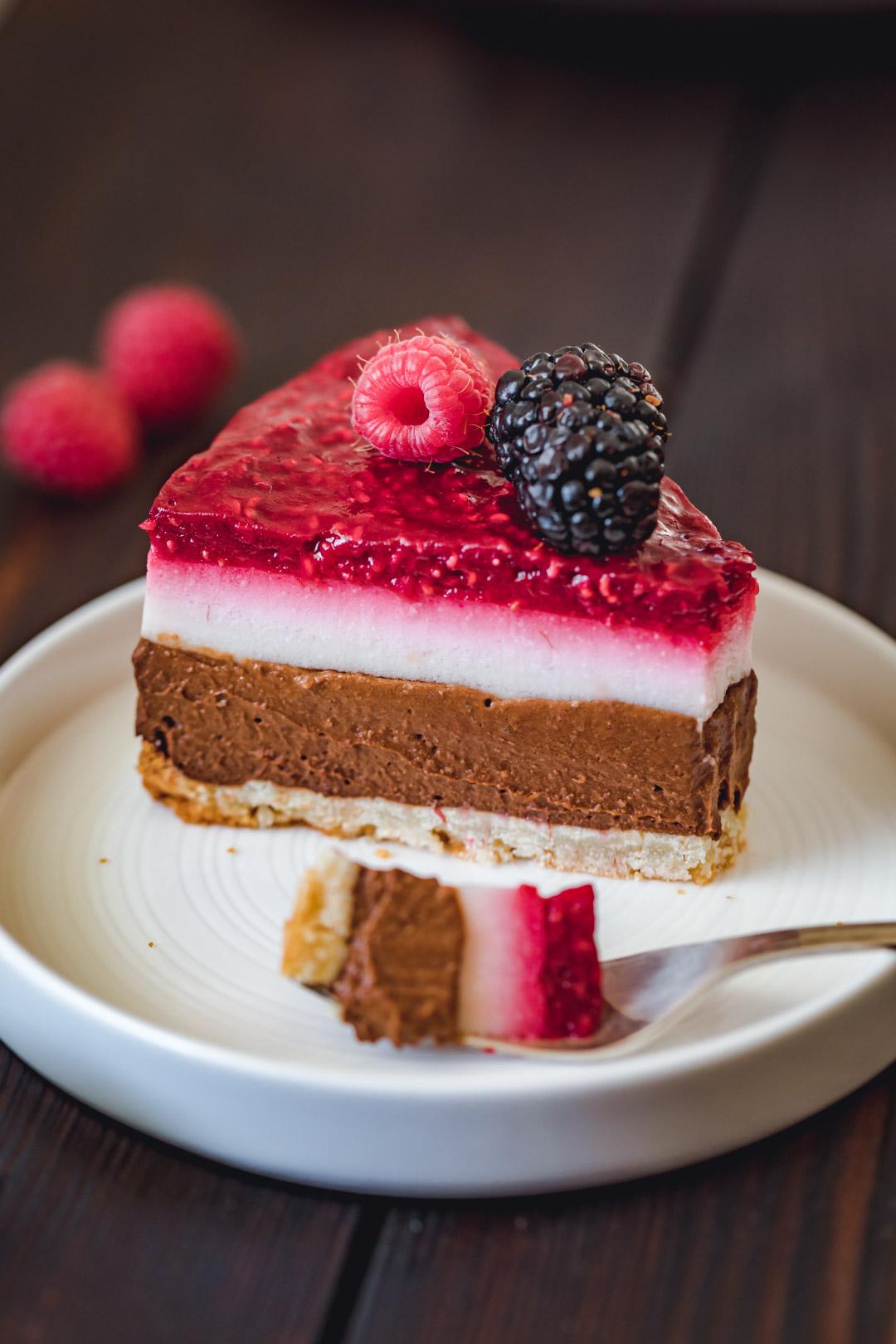 Vegan Gluten-free Raspberry Cake