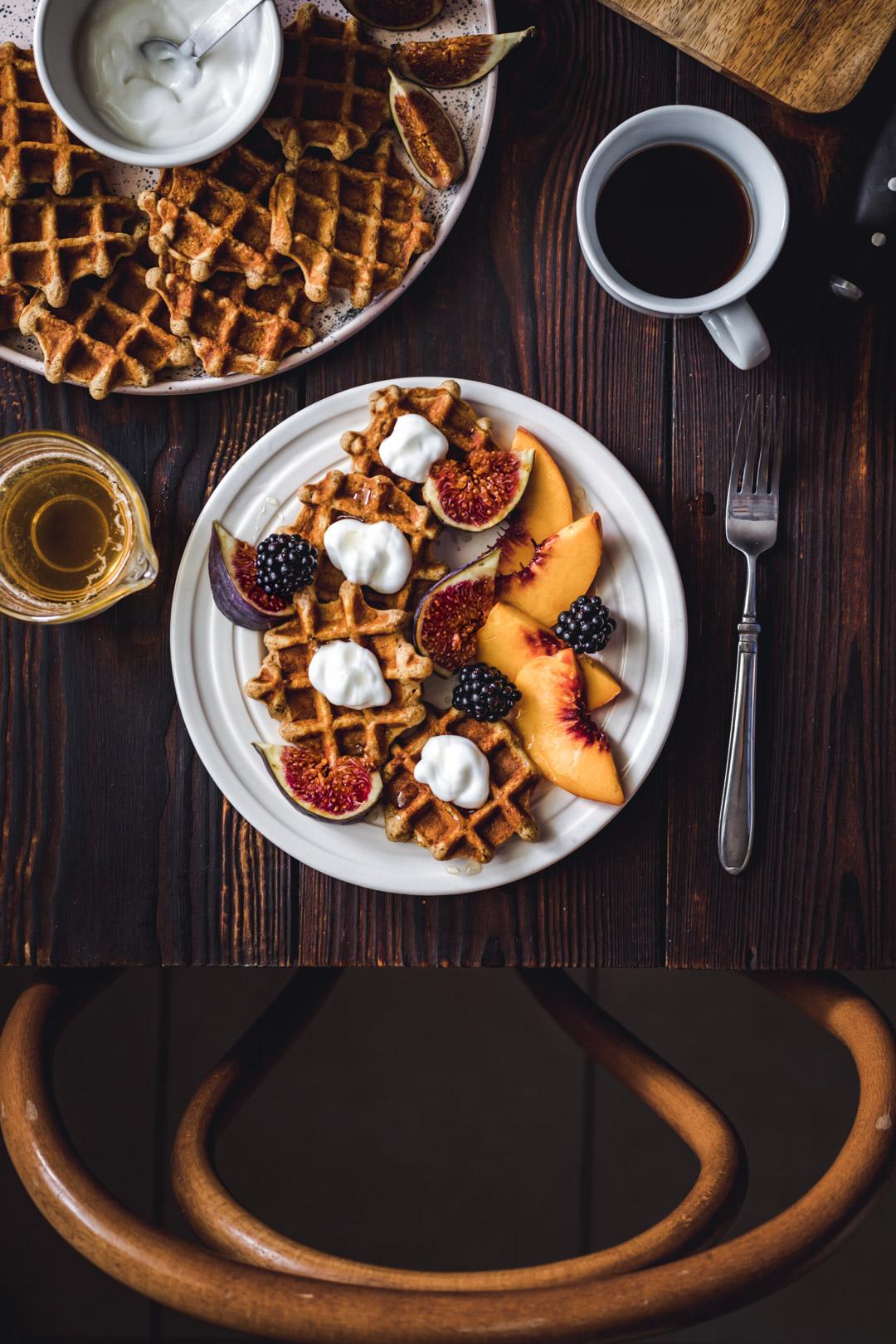 Gluten-free Mini Waffles