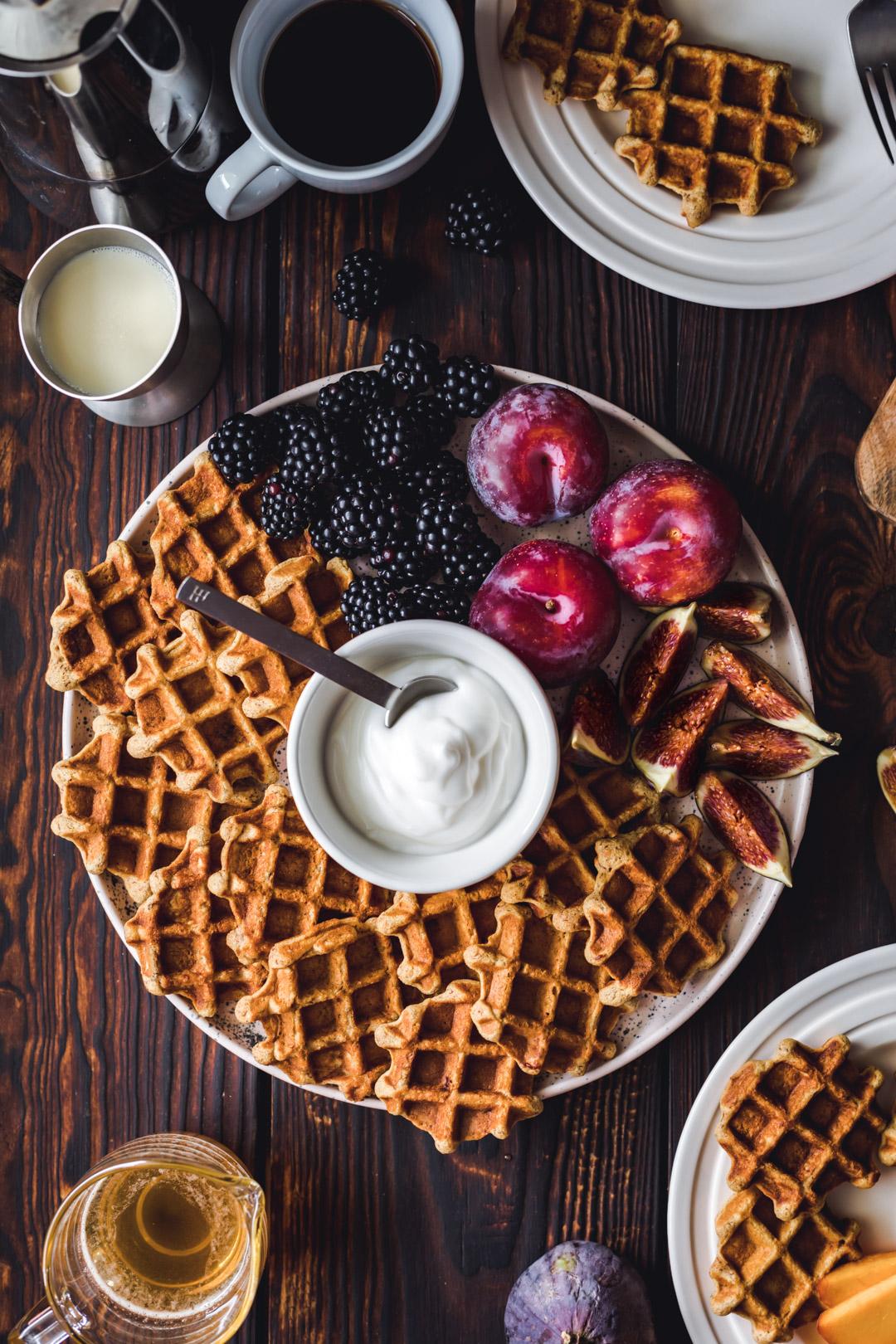 Vegan Mini Waffles