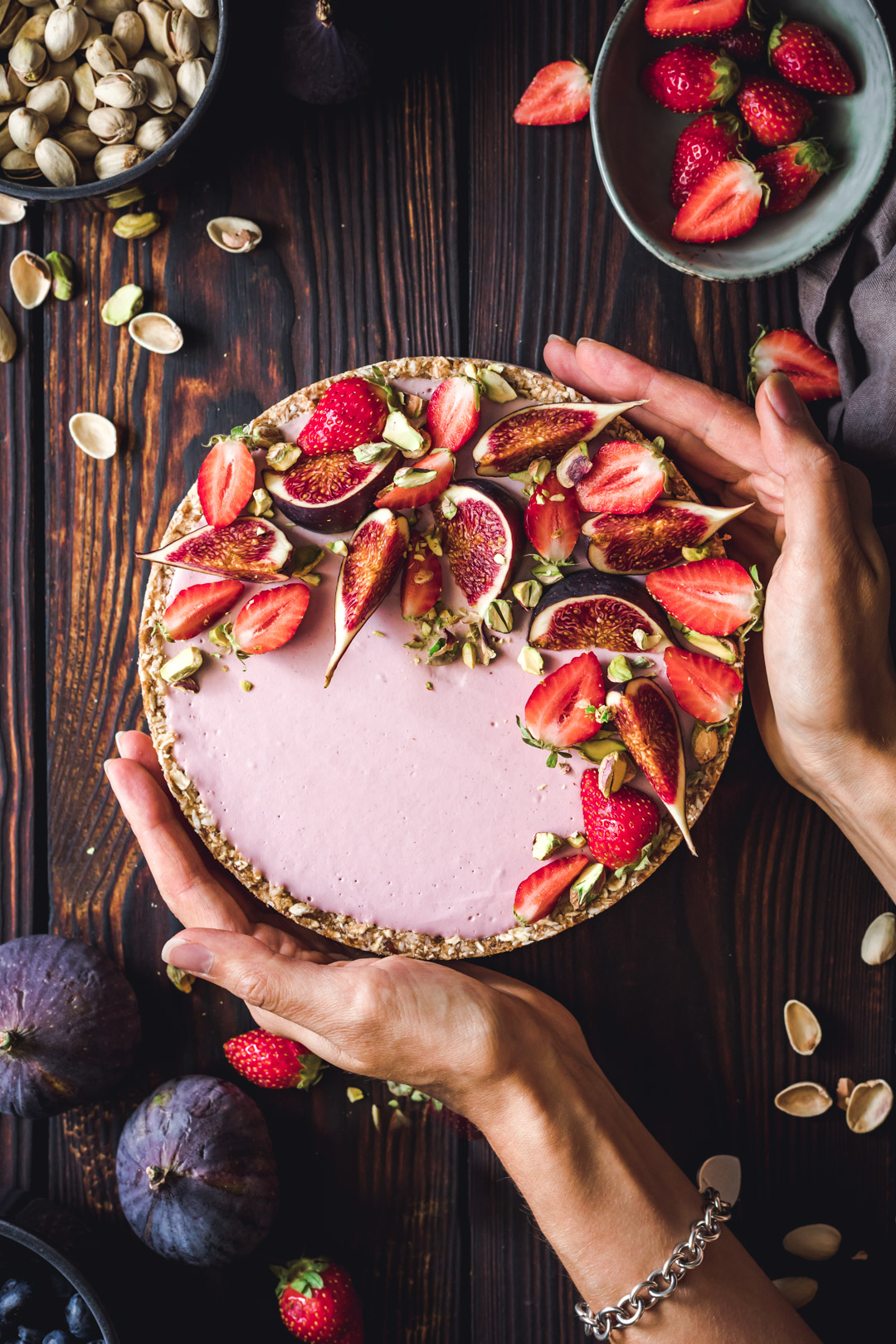 Gluten-free Strawberry Cream Tart