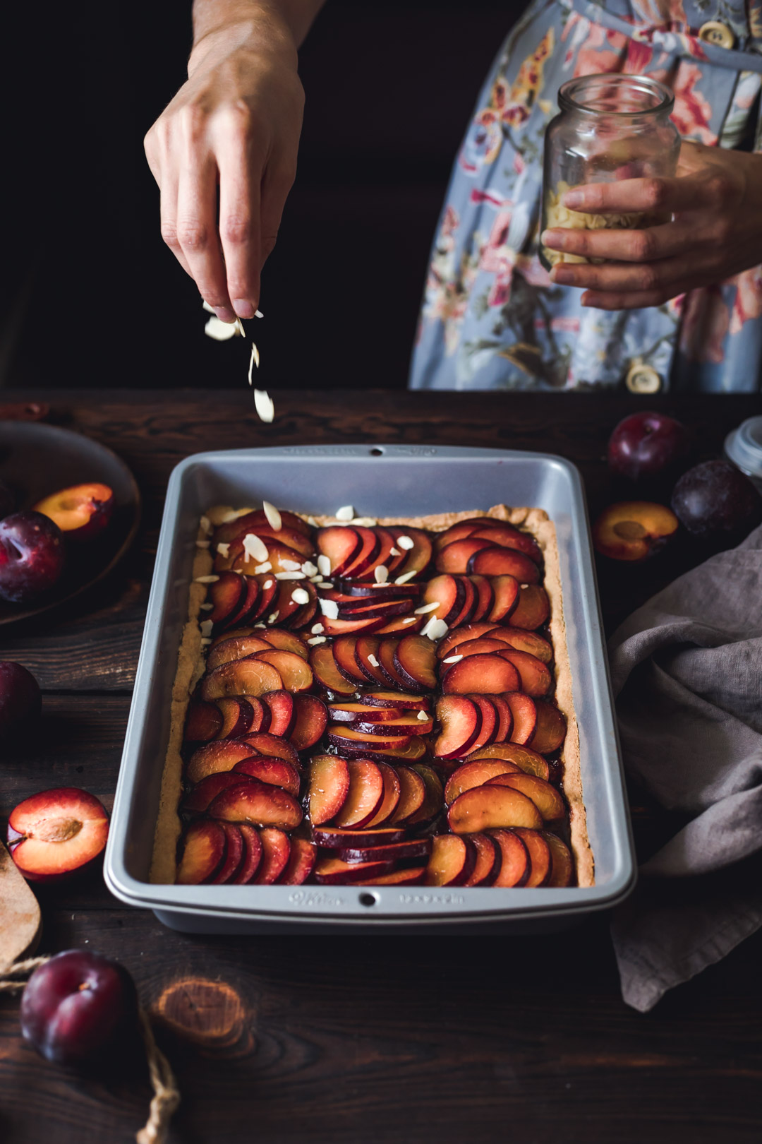 Vegan Plum Pie