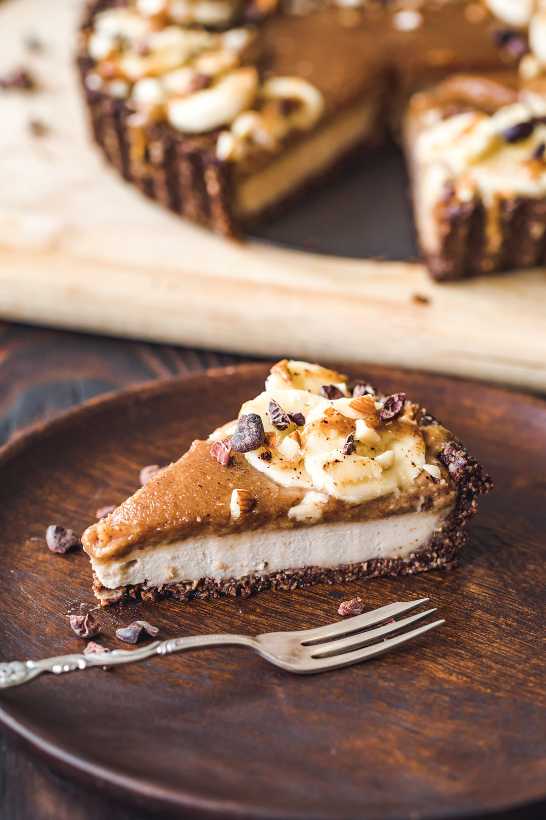 Banana Almond Butter Tart