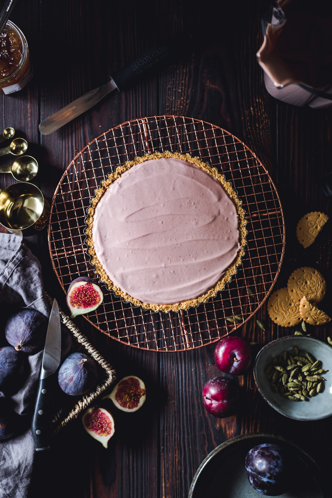Vegan No-bake Creamy Tart