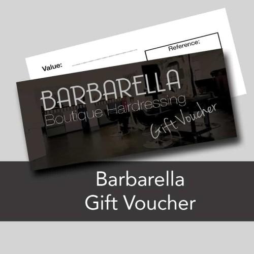 hairdressing gift voucher