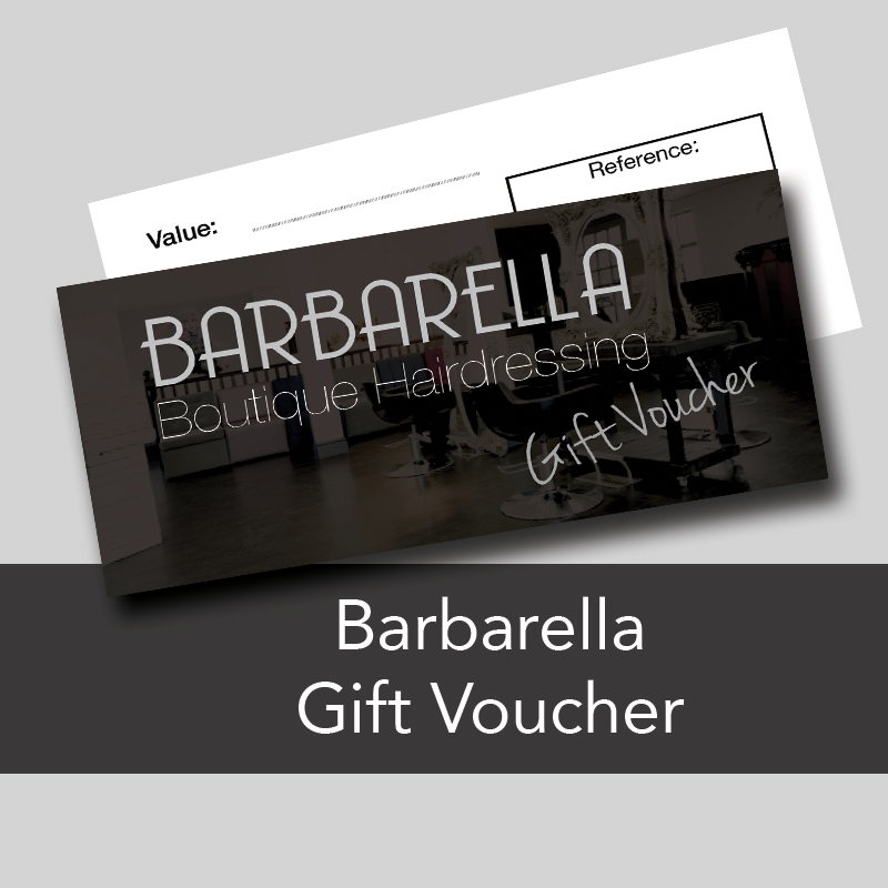 hairdressing gift voucher