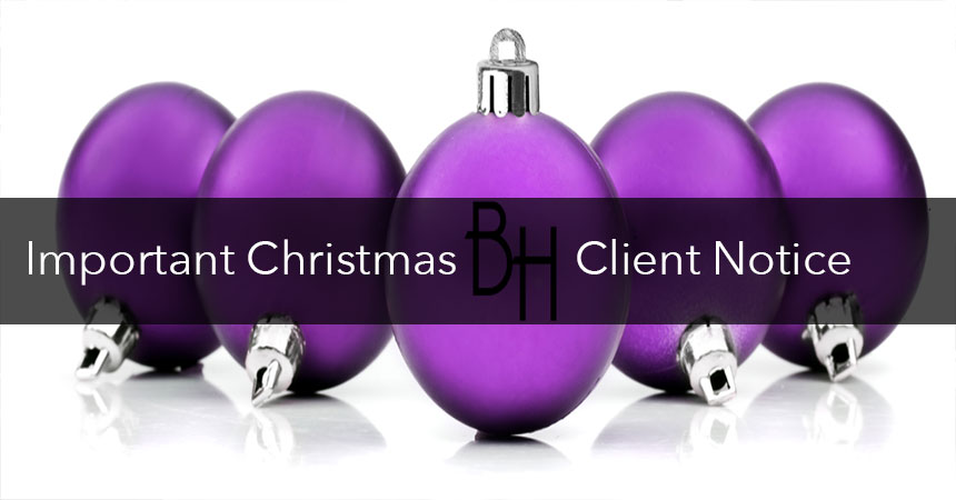 christmas hairdressing