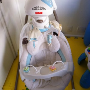 Balanço Fisher-price Little Lamb Cradle Swing