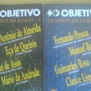 #LivrosFuvest  Objetivo Os Livros da Fuvest I e II