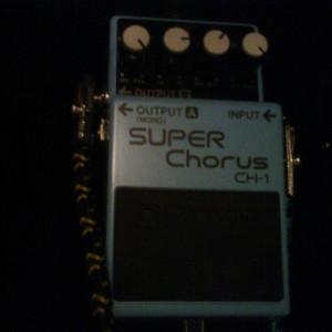 Pedal BOSS CH-1 Super Chorus. Apenas 3 meses de uso, muito bem guardado, como novo! #boss #pedal #pedais #guitarra