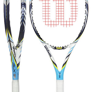 2 Raquetes de Tênis Wilson BLX Juice 100 #raquete #Tênis #Wilson