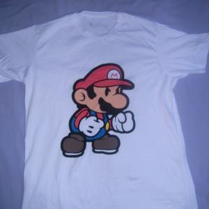 T-shirt Mário Tamanho - G