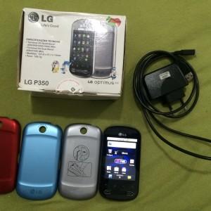 LG Optimus Me Desbloqueado Wifi 3G cartao de 2GB Nota