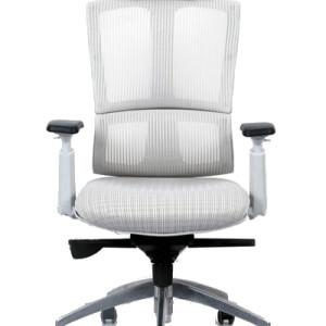 #Cadeira de #Escritório #Ergonomica tela Mesh, modelo Bavari - Branca. mais informaçoes no site da Evidenze.com.br / Pronta Entrega.