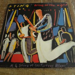 "Disco Vinil ""Sting - Bring on the night"""