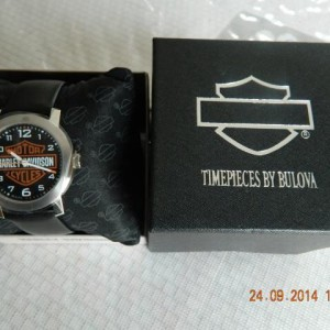Relógio Bulova Harley Davidson unissex direto dos USA.