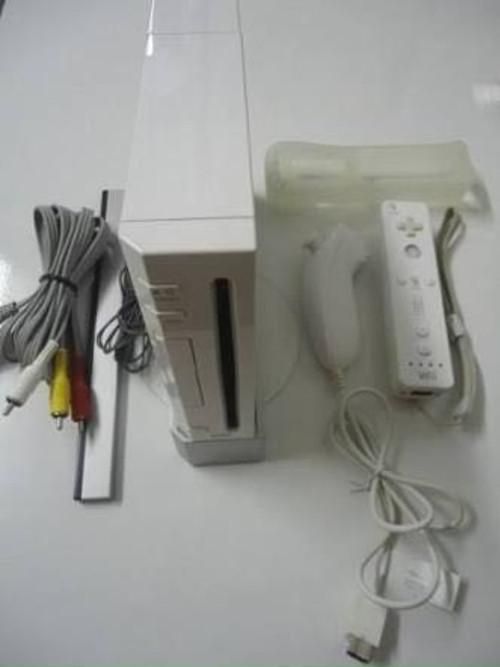 Nintendo Wii branco completo e desbloqueado em ótimas condições + 2...