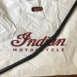 Guidão drag-bar inox para #indian #scout