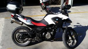 #BMW #GS650 2012 Baú Original BMW Relação Nova ABS 22.000 km rodados