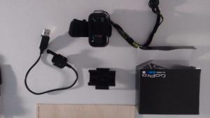 Vendo Controle GoPro Hero.  - À prova d'água até uma profundidade de 10 m. - Compatível com câmeras GoPro HERO4, HERO3 + e modelos HERO3