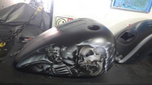 Pintura Niterói Harley Custom apartir de 2.000mil customizada