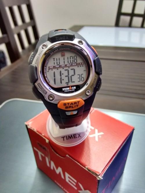 Relógio Timex - IronMan Triathlon Shock- Nunca Usado,na caixa  #relogio #timex #ironman #sport #relógio