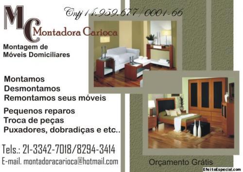 MC. Montadora Carioca  Soluções em montagens de móveis