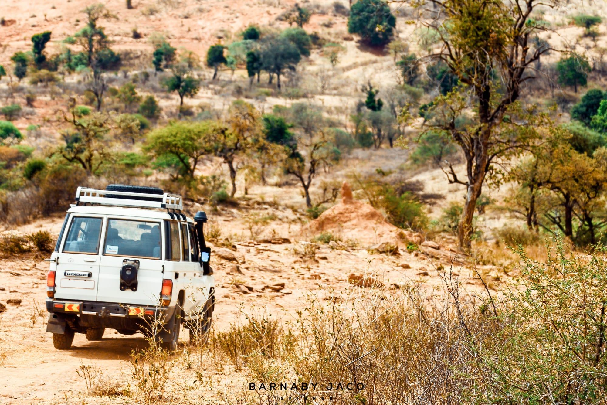 Off-roading between Ethiopia and Kenya