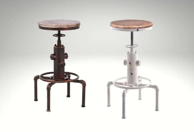 cheap industrials Bar Stools