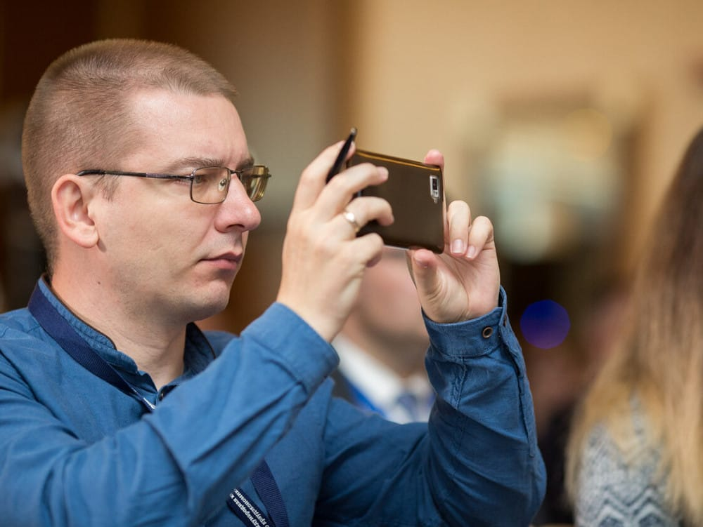 Дмитрий Бартошевич на конференции