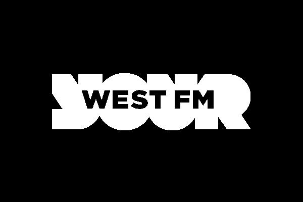 HRN: West FM logo