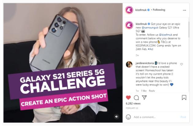 Galaxy s21 challenge