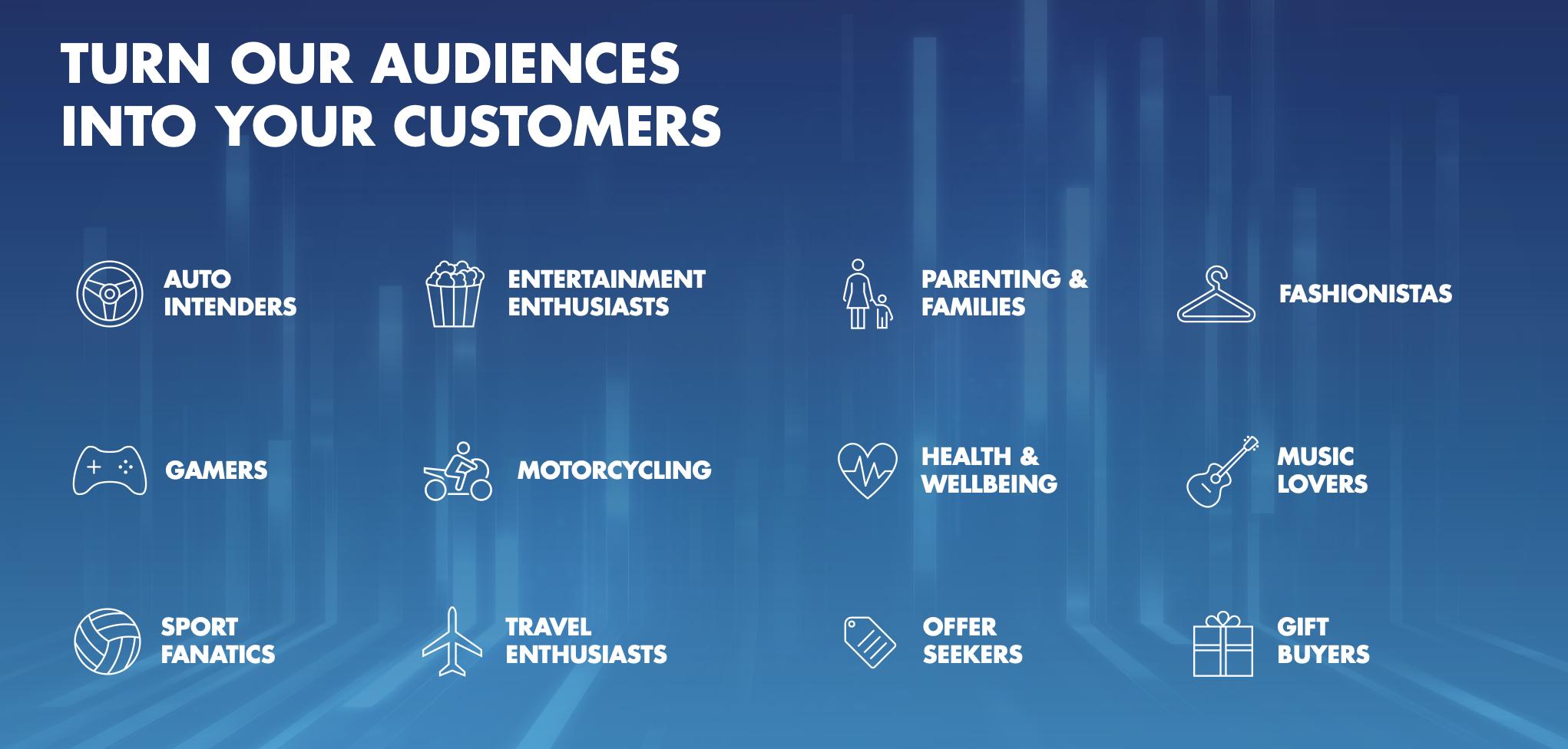 Illuminate audiences