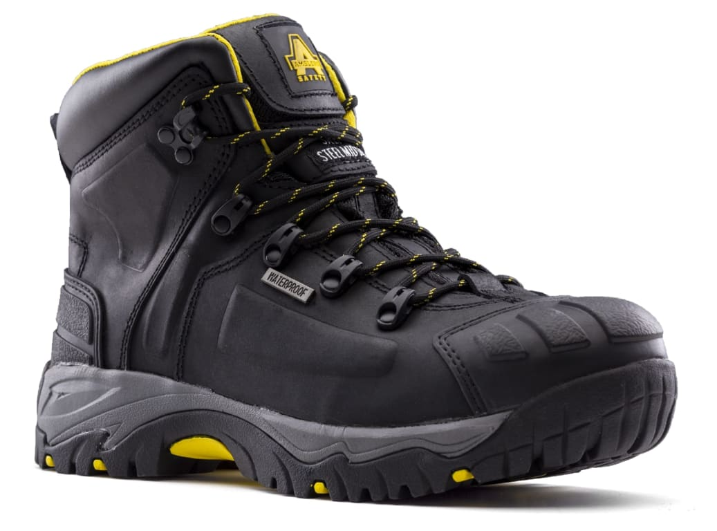 New AS803 EE Extra Wide Fit Safety Boot