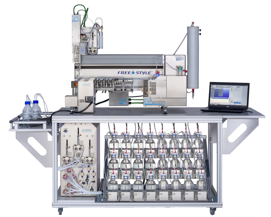 Automated Sample Clean-up at the analytica 2018 - AWE