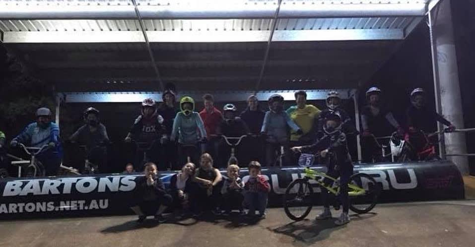 Women on BMX Night