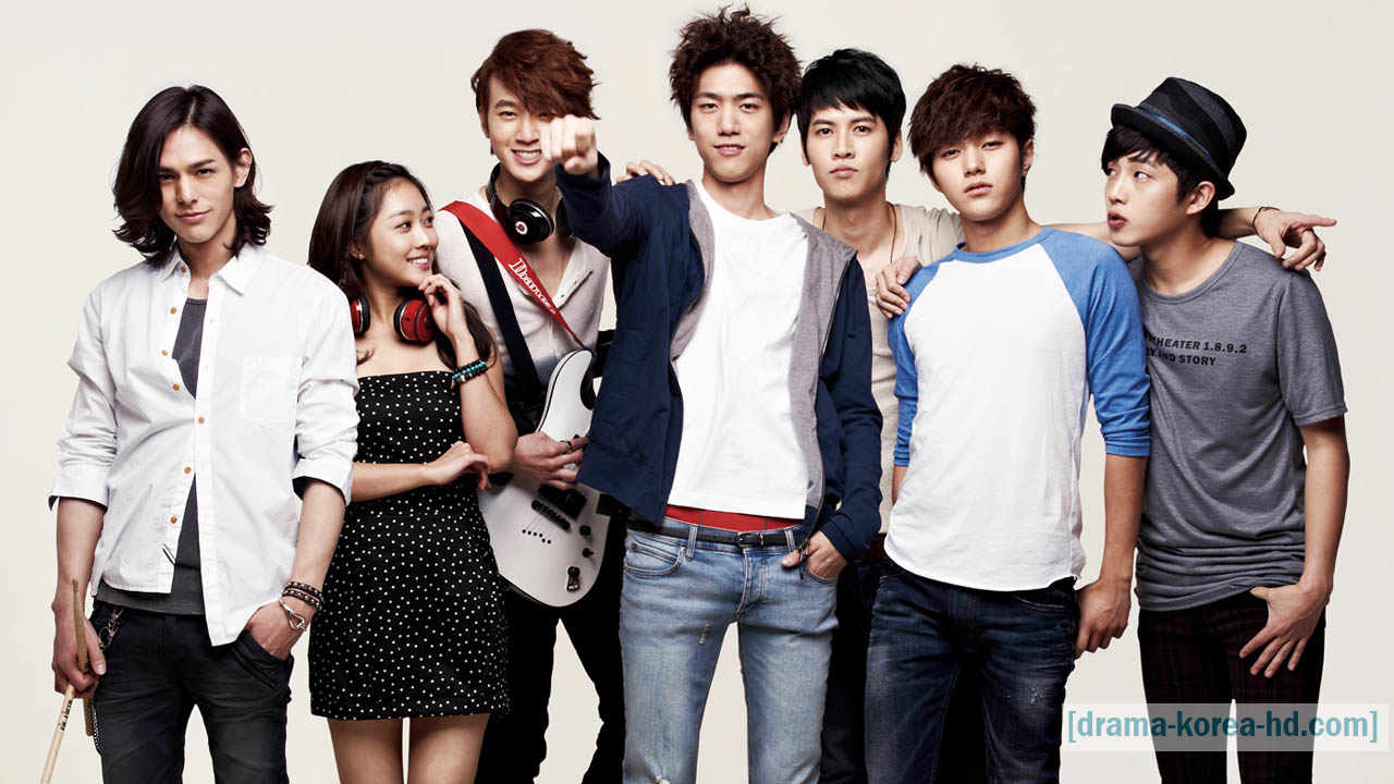 Shut Up Flower Boy Band drama korea