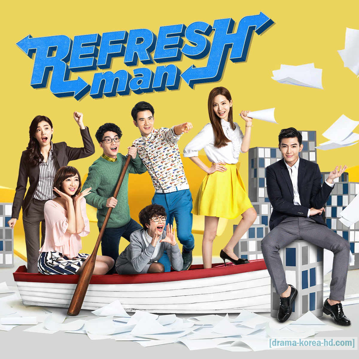 Refresh Man drama korea