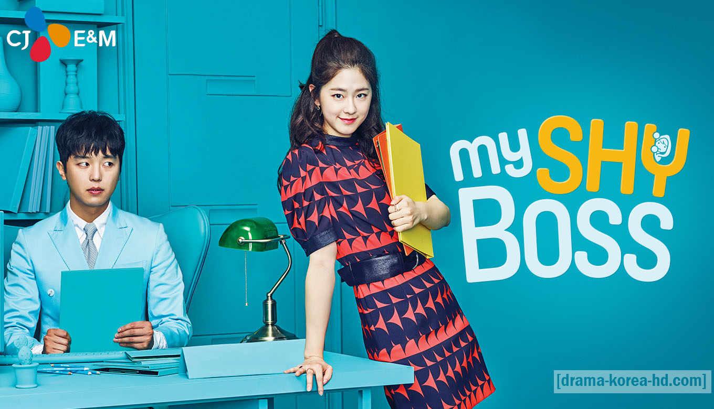 Introverted Boss , My Shy Boss drama korea