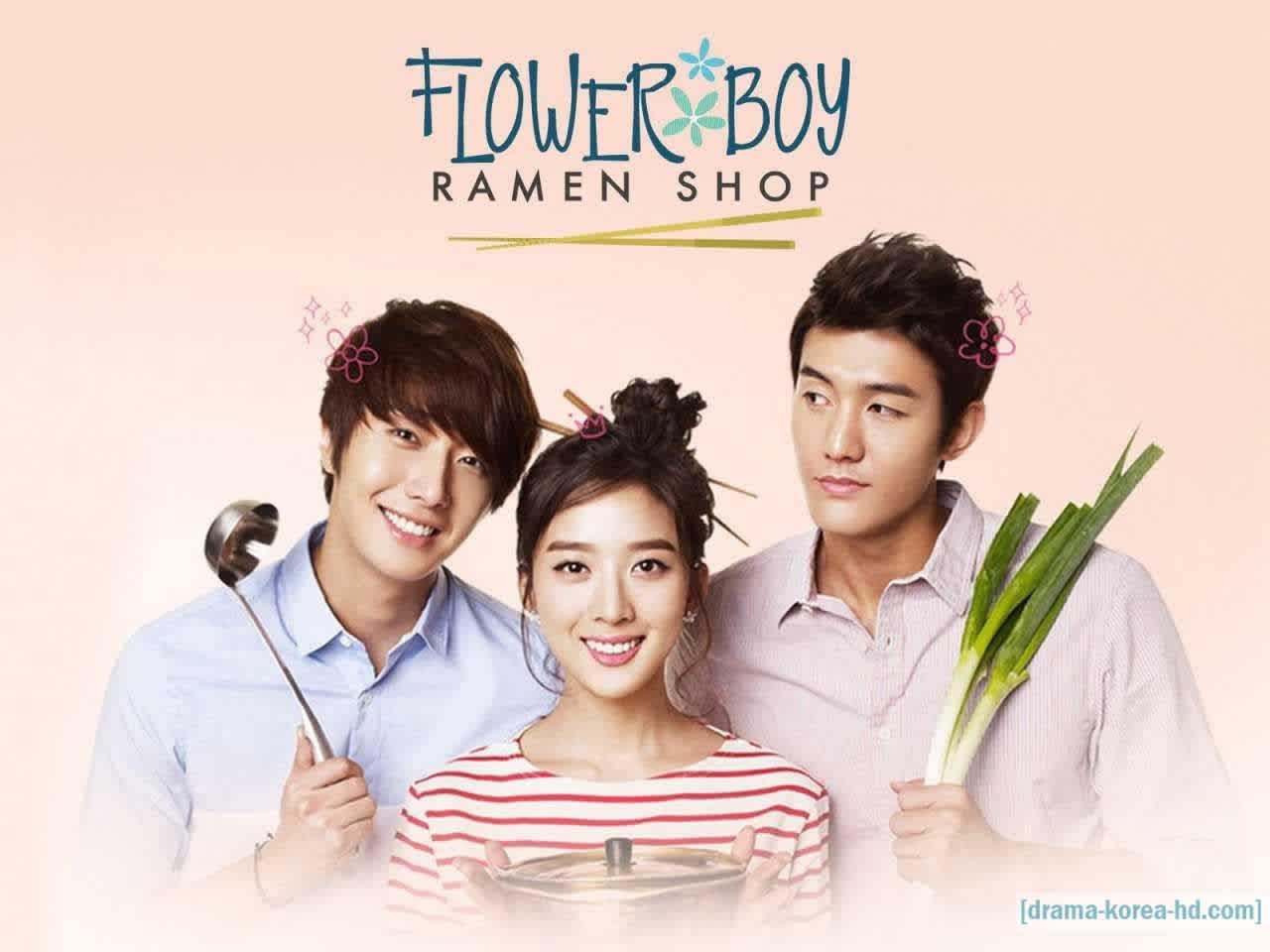 Flower Boy Ramen Shop drama korea