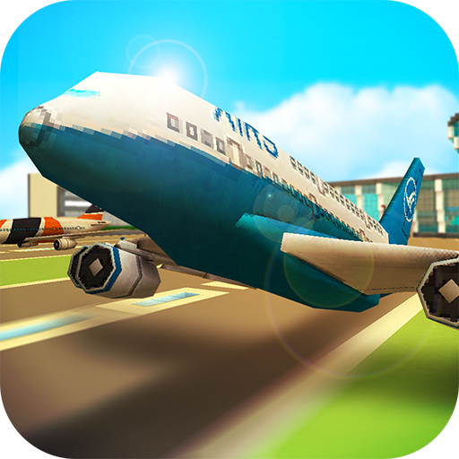 Direct Download Airport Craft Fly Simulator Boys Craft Building 1.0 Apk Android