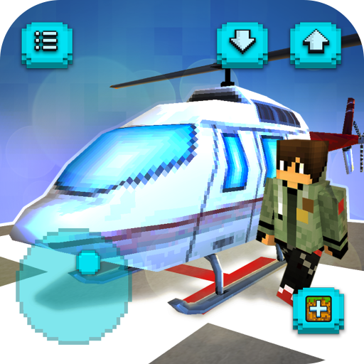 Download Helicopter Craft Flying Crafting Game 2018 1.22 Apk Android