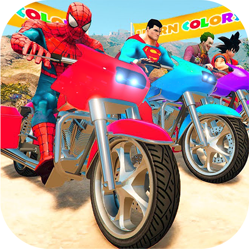 Download Super Heroes Downhill Racing 1.4 Apk Android