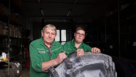 Reifenmontage und Reifenreparatur