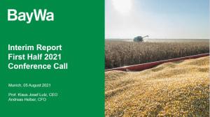 Presentation Conference Call Q2 2021