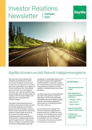 IR-Newsletter HJ 2021