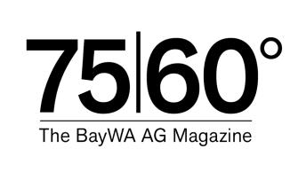 Logo BayWa Magazine 75I60°